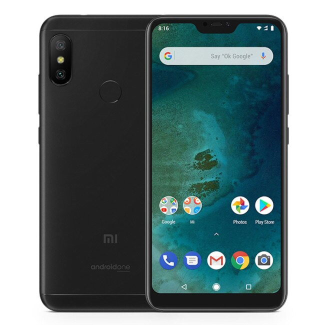 Legend Coupon xiaomi-mi-a2-lite-4gb-ram-64gb-rom-snapdragon-625-20ghz-octa-core-584inch-25d-fhd-full-screen-android-8-1-4g-lte-smartphone Smart phone