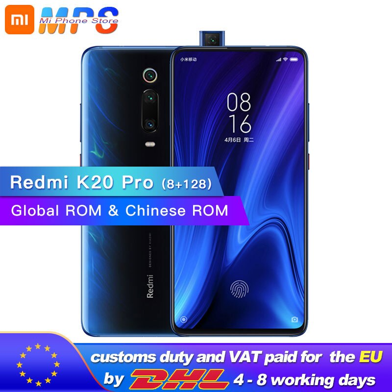 Legend Coupon xiaomi-redmi-k20-pro-128gb-8gb-snapdragon-855-octa-core-mobilephone-4000mah-pop-up-front-48mp-rear-camera-amoled-6-39-phone Smart phone